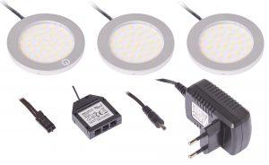 Zestaw opraw LED